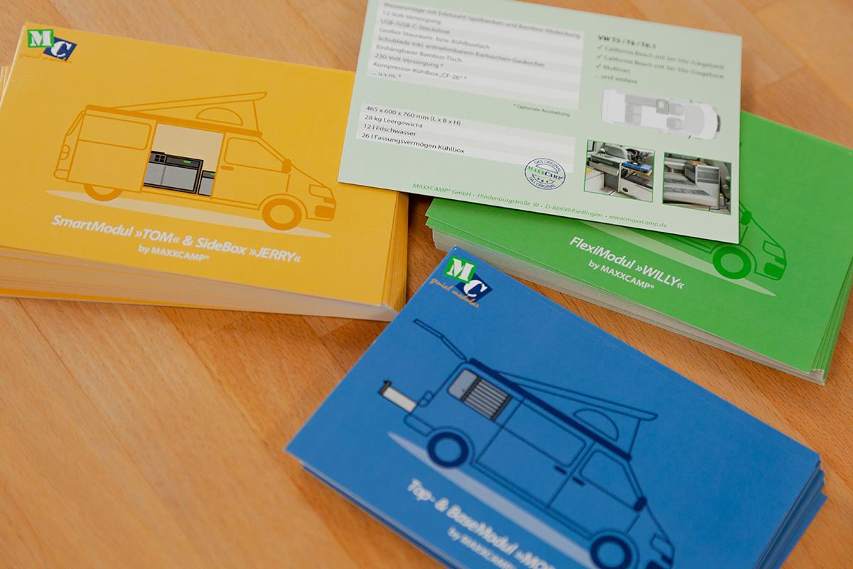 MAXXCAMP Postcards